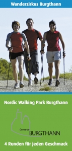 Flyer Nordic Walking Park Burgthann