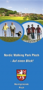 Flyer Nordic Walking Park Plech